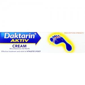 Daktarin Aktiv For Athlete's Foot Cream 15g
